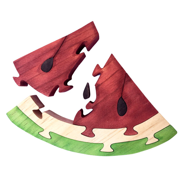 Wooden Puzzle - Watermelon