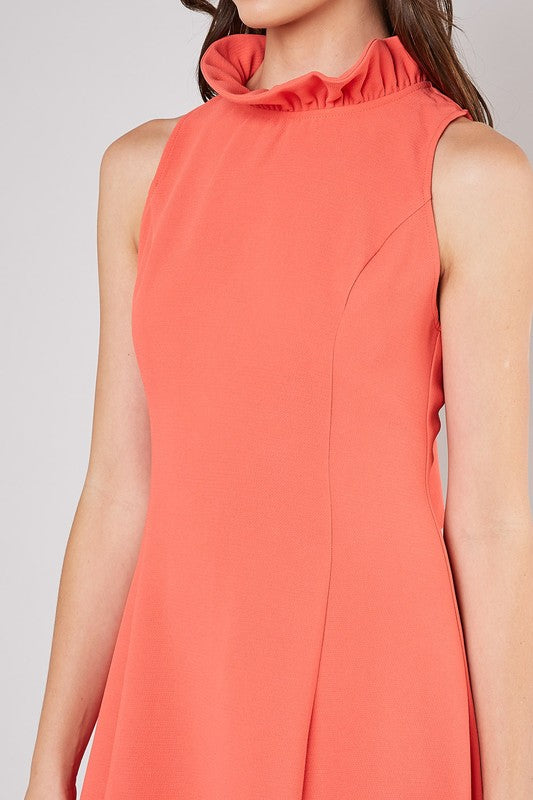 Poppy Tie Neck Dress - SALE