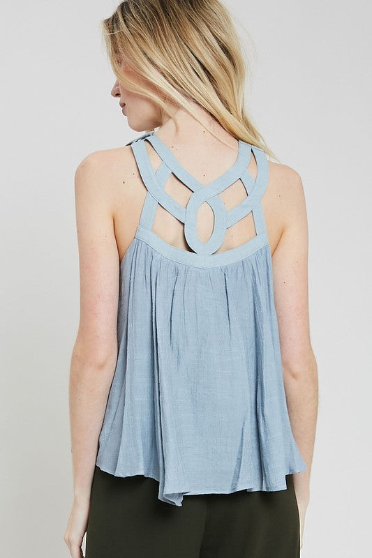 Lattice Strappy Tank