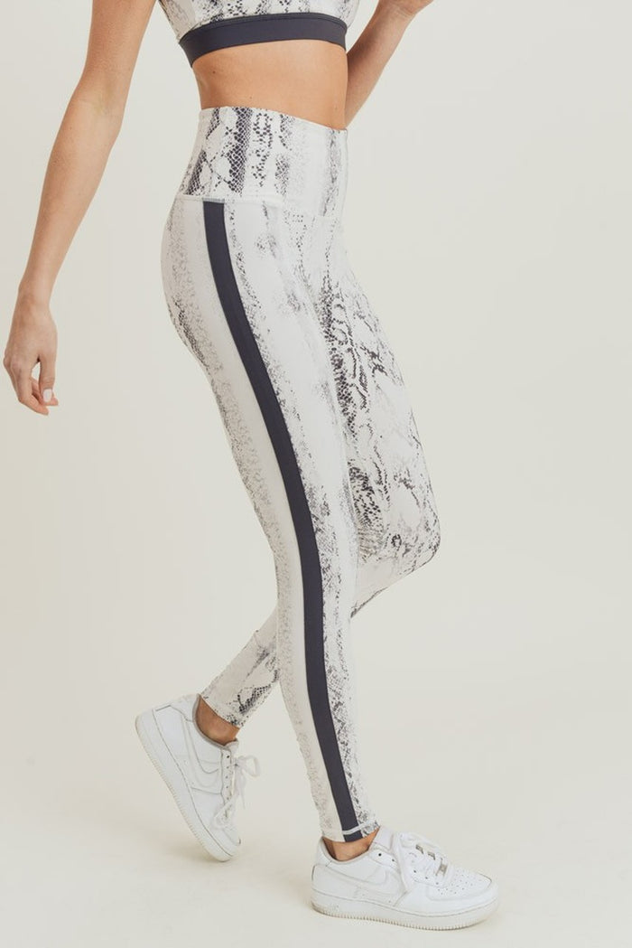 Our Amazing $35 Leggings - Snake Striped