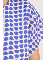 Sunglasses Print Dress