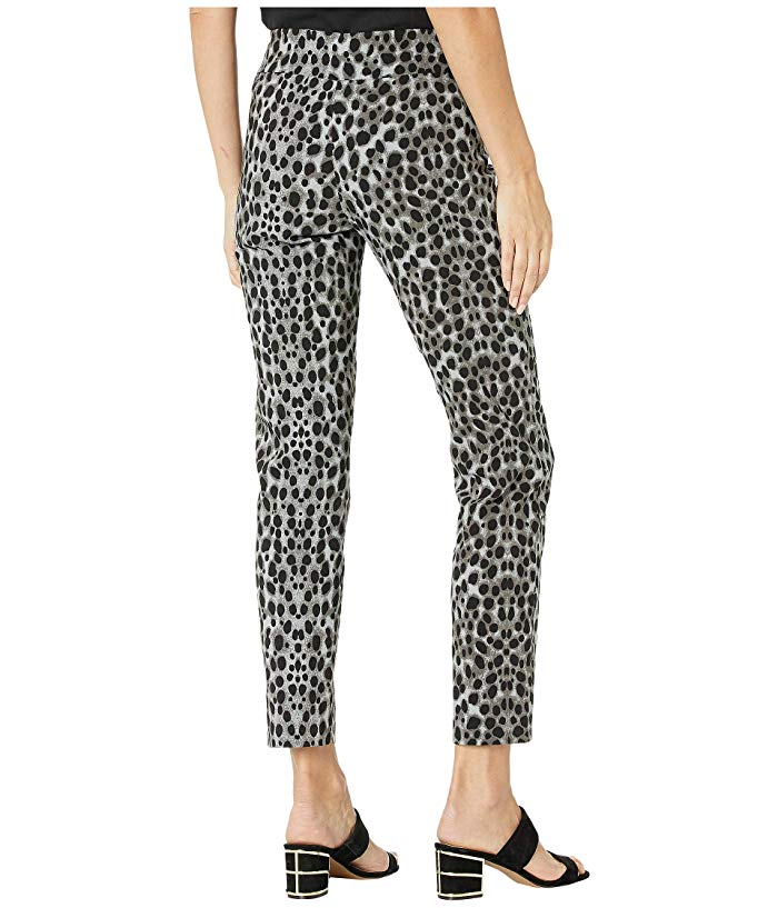 Krazy Larry Pants - Grey Leopard - FINAL CLEARANCE