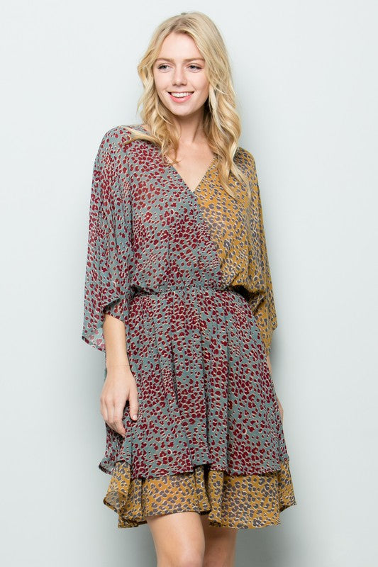 Layered Spotted Dress