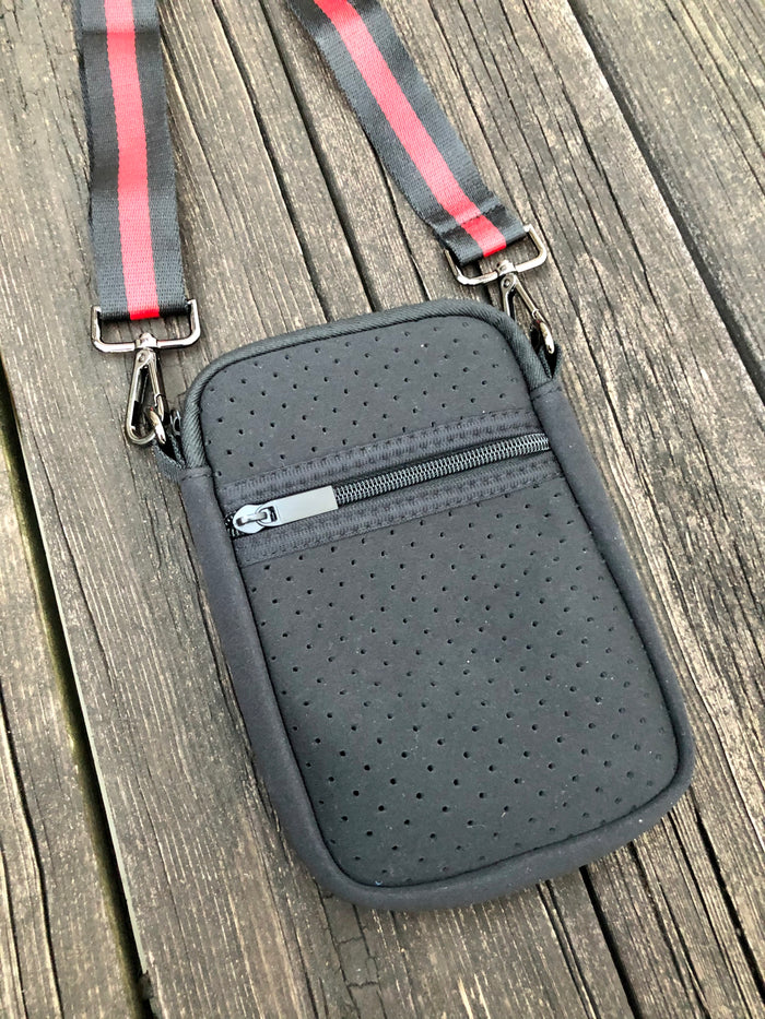 Neoprene Crossbody - Black