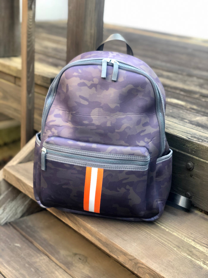 Neoprene Backpack - Camo Stripe