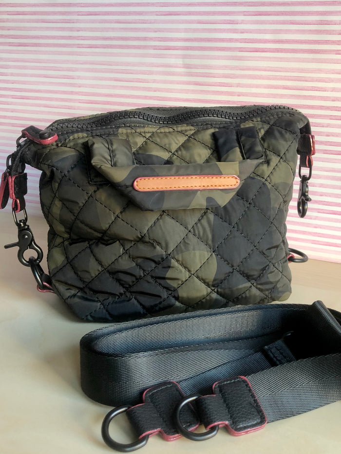 Mini Quilted Bag - Camo