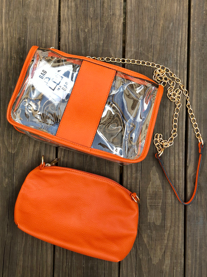 Clear Monogrammable Bag in Bag - SALE