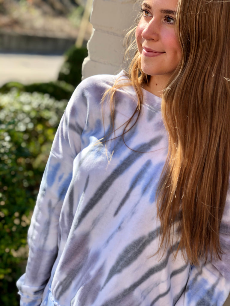 Seaside Tie Dye Sweatshirt
