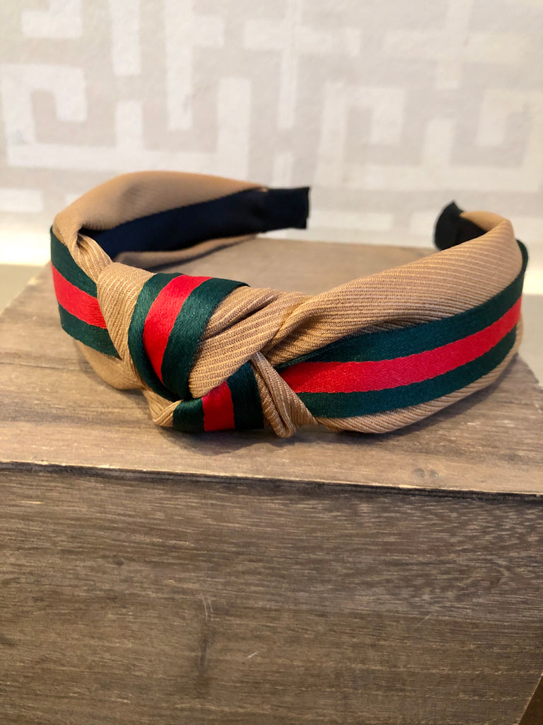 Holiday Stripe Headband