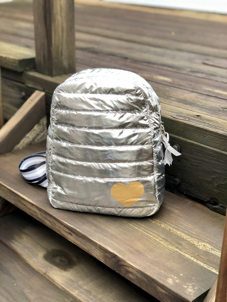 Puffer Crossbody Backpack
