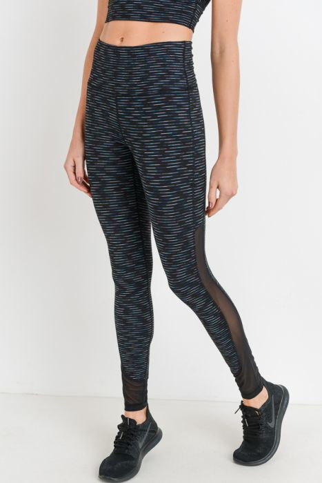 Our Amazing $35 Leggings - Nebula Stripe - SALE