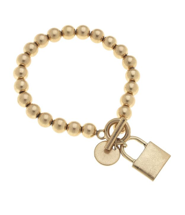 Stretch Ball Lock Bracelet