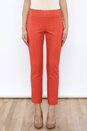 Krazy Larry Pants - Orange Print - FINAL CLEARANCE