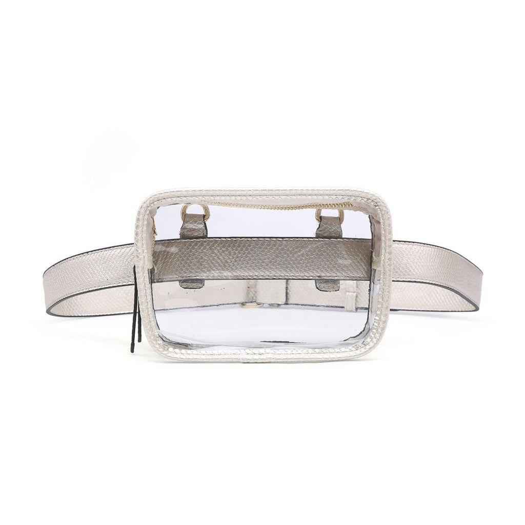 Clear Convertible Fanny Pack