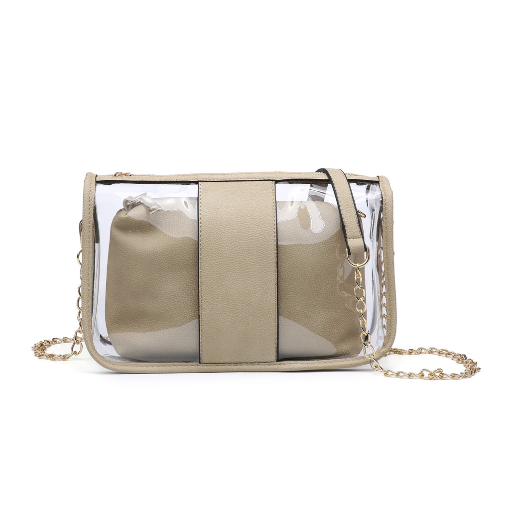 Clear Monogrammable Bag in Bag