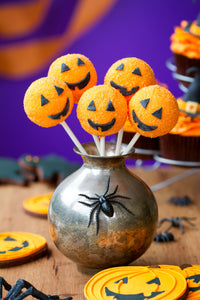 Buy Halloween Pumpkin Cake Pops for UK Delivery