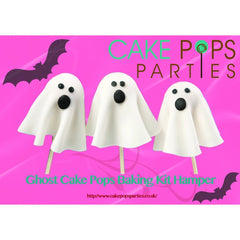 Halloween Ghost Cake Pops Baking kit