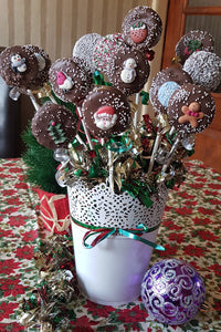 Christmas Oreo Pops Bouquet