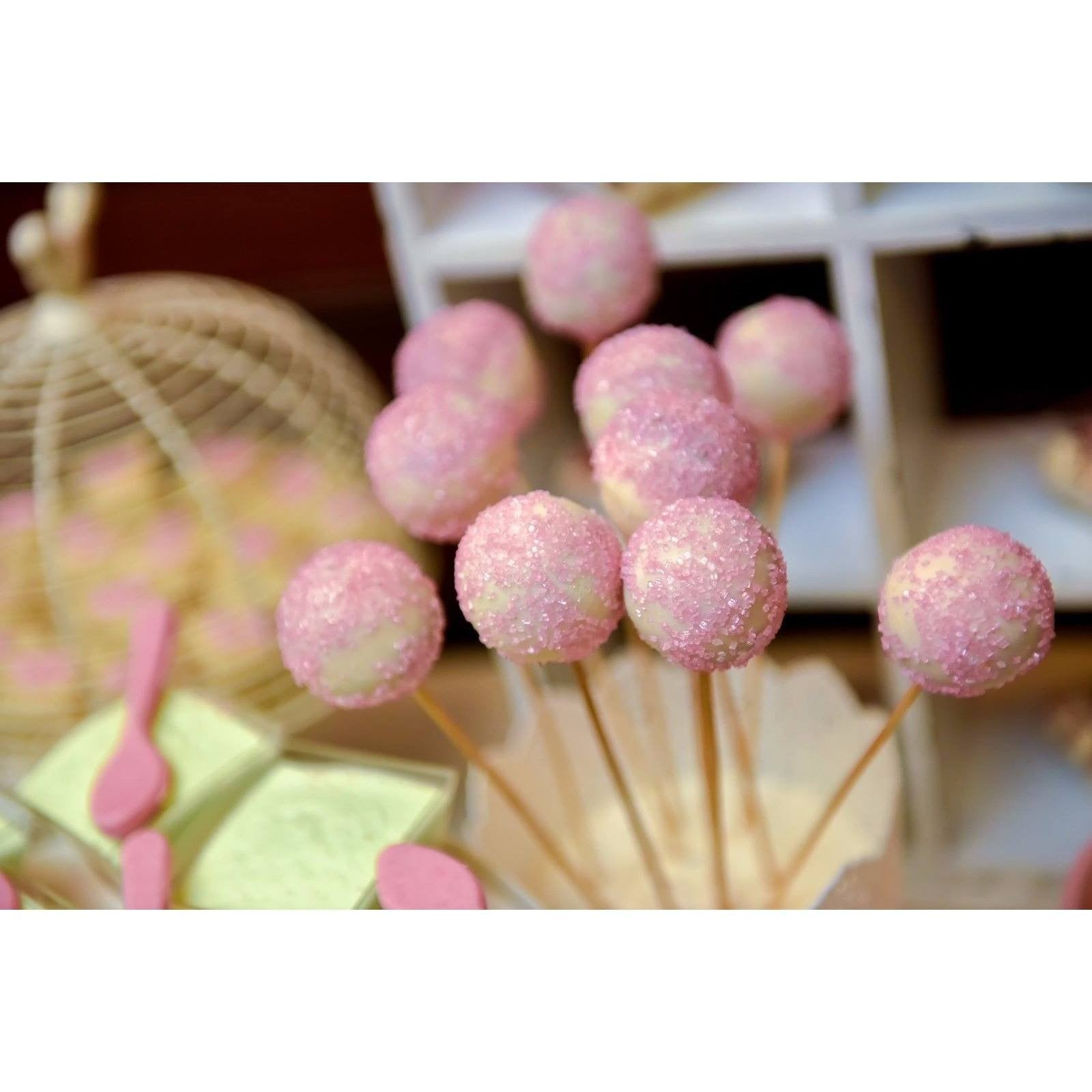 Sparkling Sugar Cake Decoration Sprinkles  crystals cake pops - Cake Pops Parties
