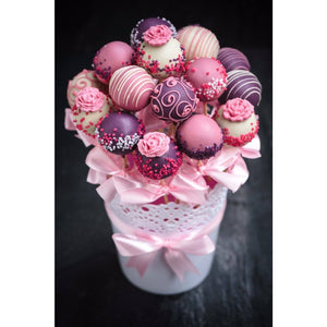 Cake Pops Gift For Valentine's Day, Mother's Day, - Cake Pops Parties