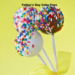 Father's Day White And Milk Chocolate Cake Pops - Cake Pops Parties
