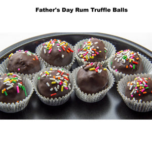 Buy Chocolate Rum Truffle Cake Pop Balls For Father's Day - Cake Pops Parties