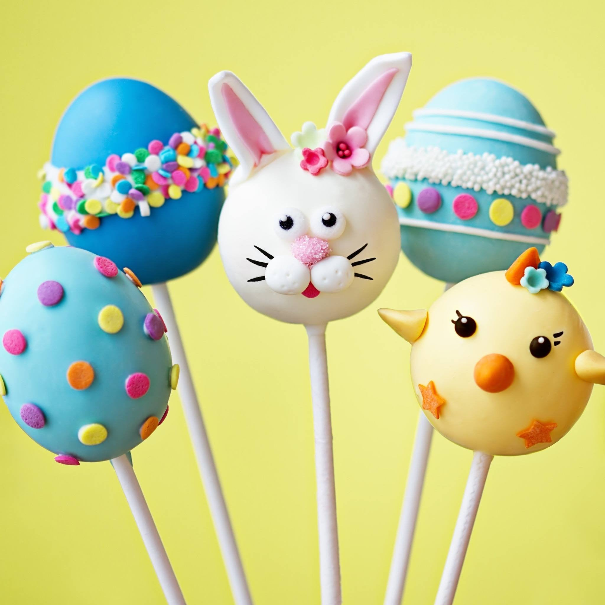 buy easter bunny easter with easter eggs cake pops u2013 cake