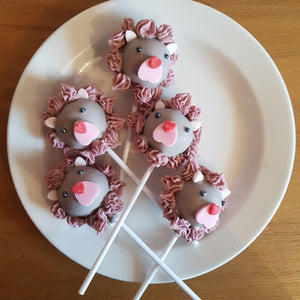 Lion Cake Pops - Cake Pops Parties