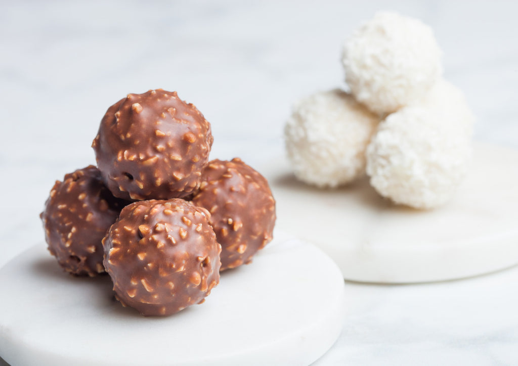 Millk Chocolate Nut and Coconut Fat Bombs