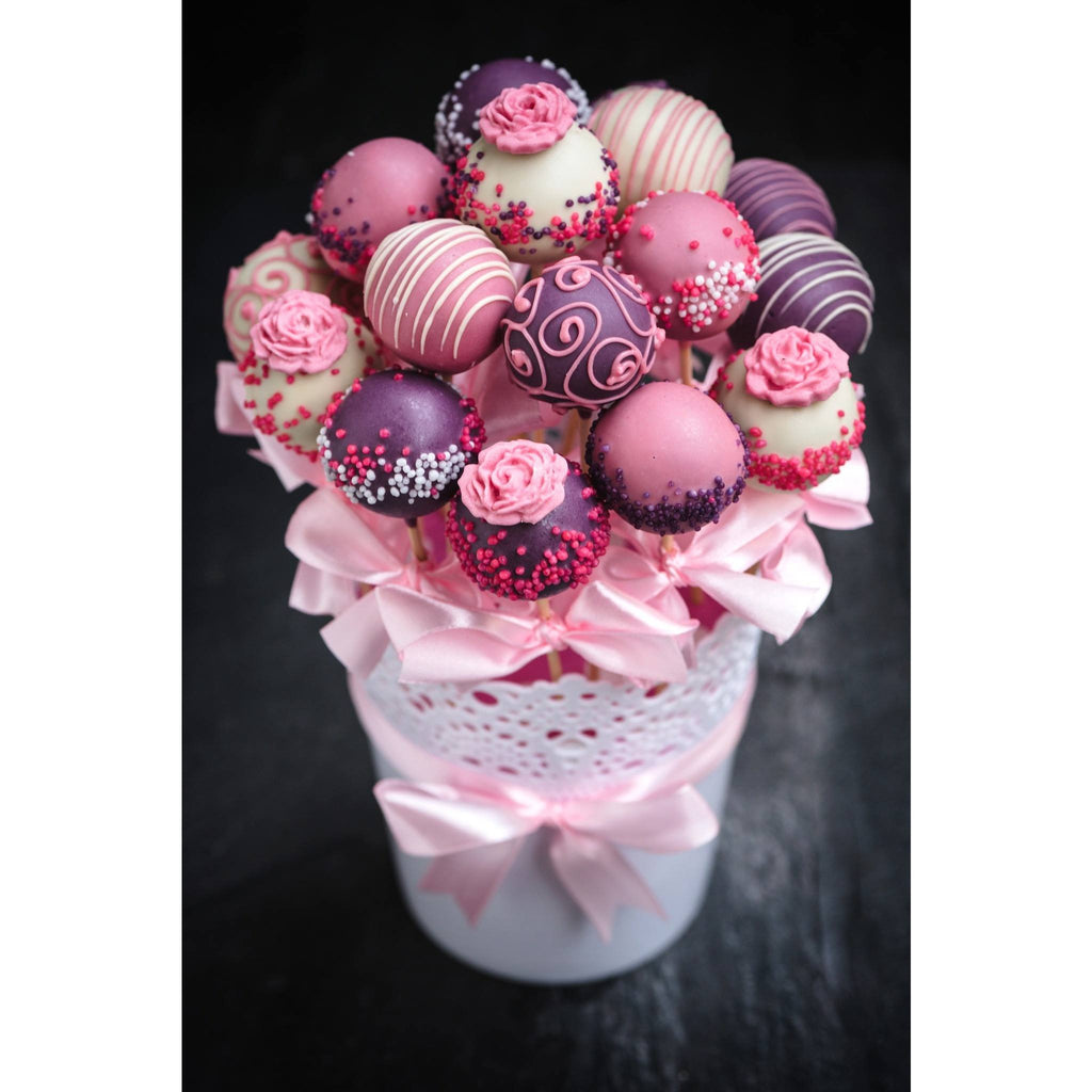 Buy Bridal Shower Cake Pops Gift Bouquet - Cake Pops Parties