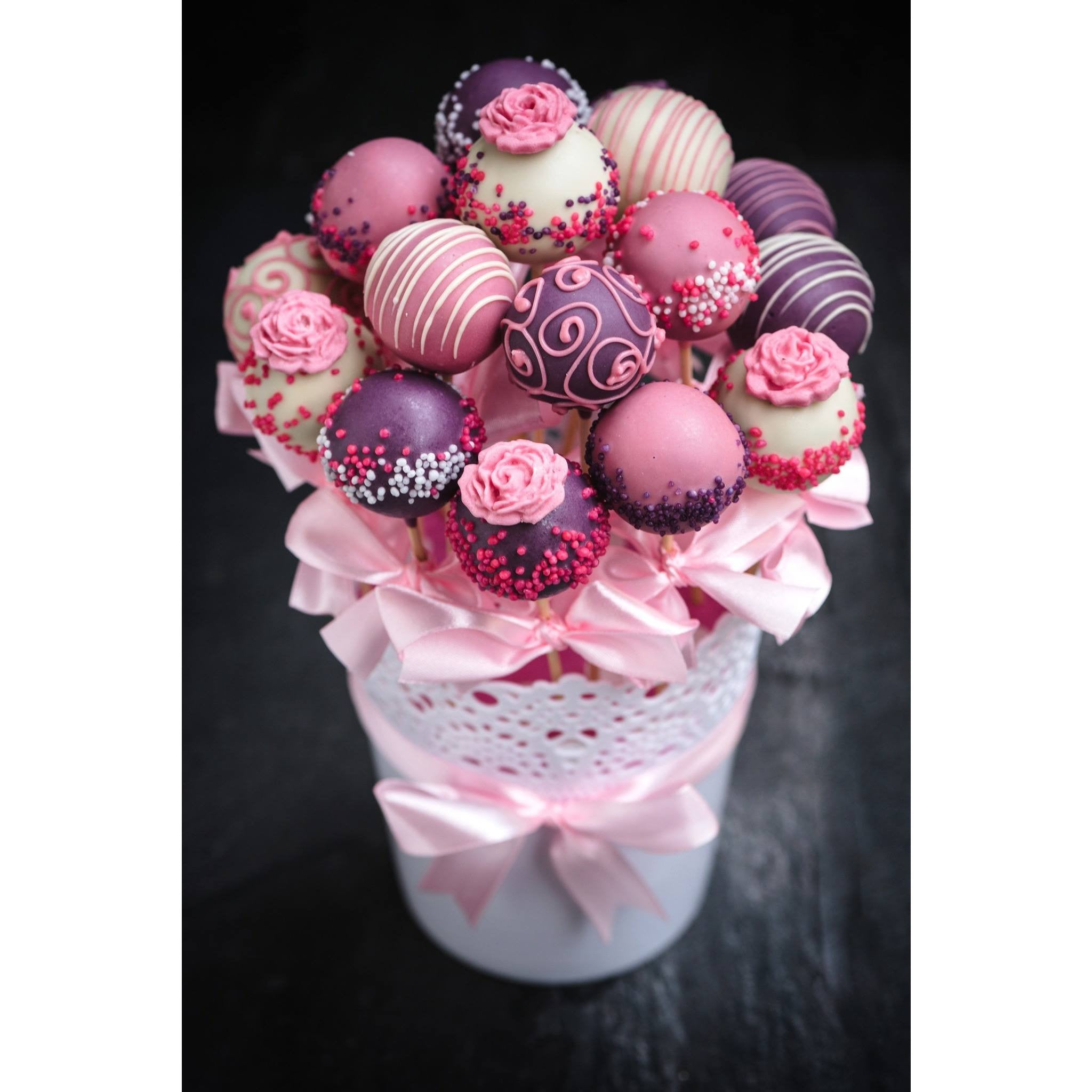 Buy Mother S Day Cake Pops Gift Bouquet Cake Pops Parties