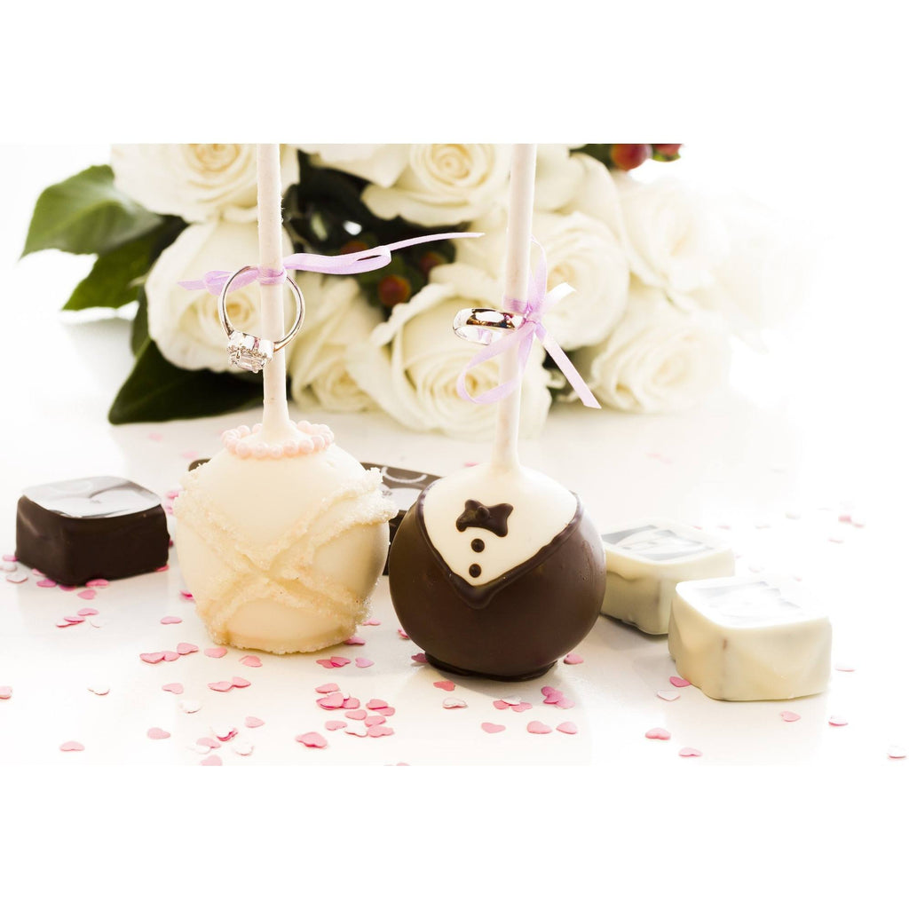 Buy Bride And Groom Wedding Cake Pops - Cake Pops Parties