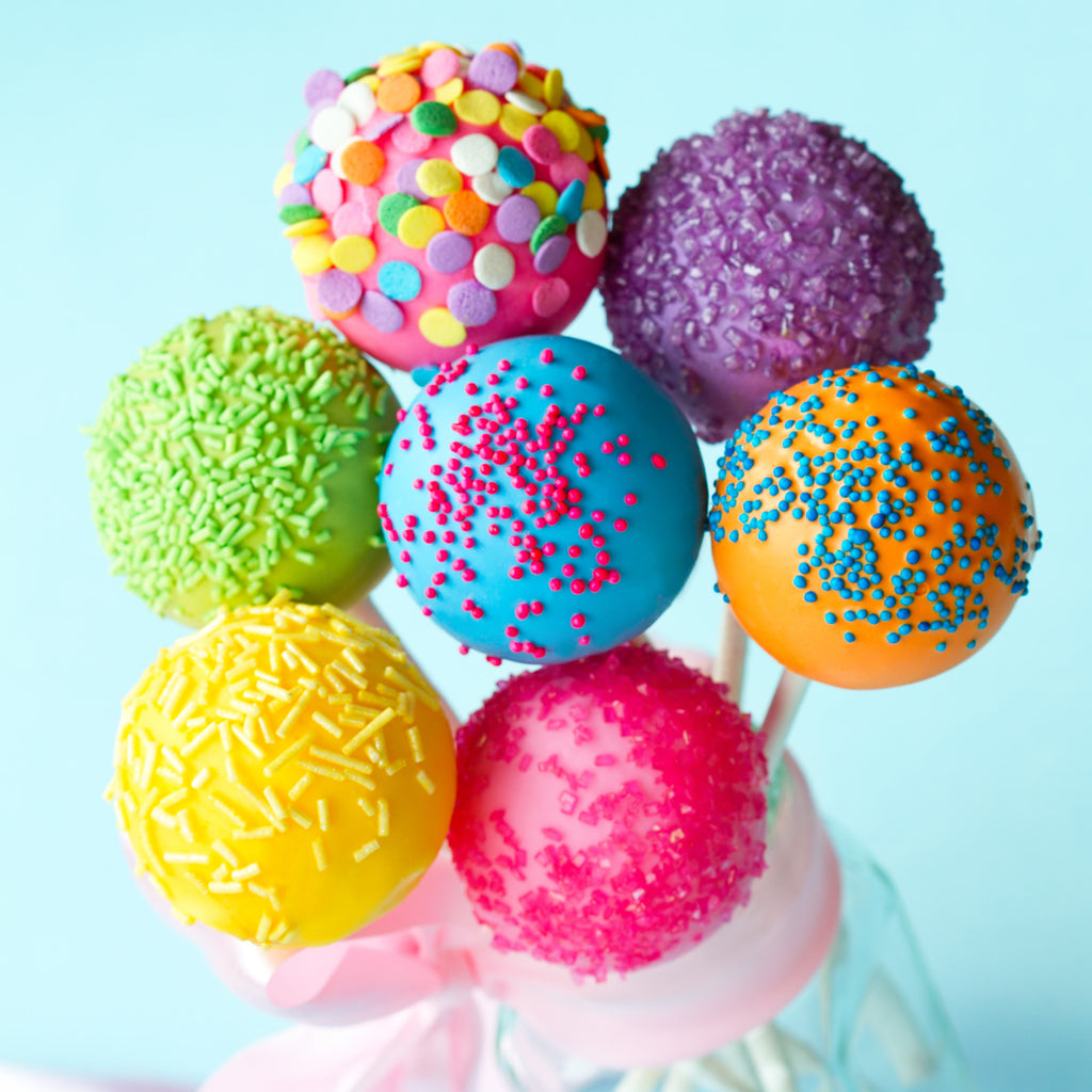 Birthday Cake Pops - Cake Pops Parties