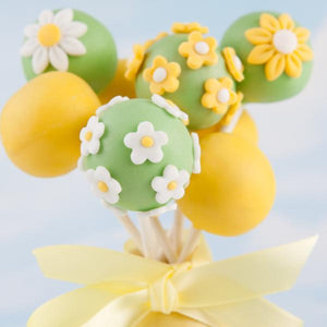 LEMON AND ELDERFLOWER ROYAL WEDDING CAKE POPS - Cake Pops Parties