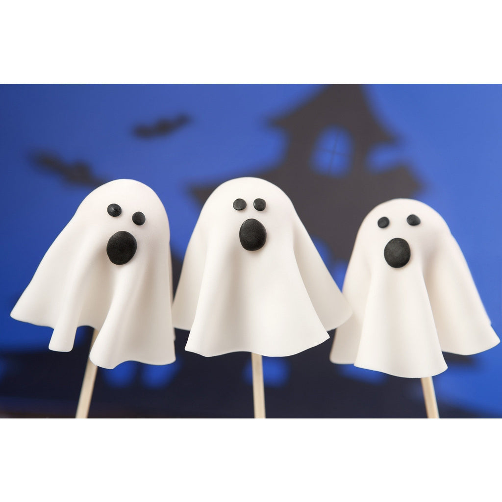 ghost cake pops for halloween – cake pops parties
