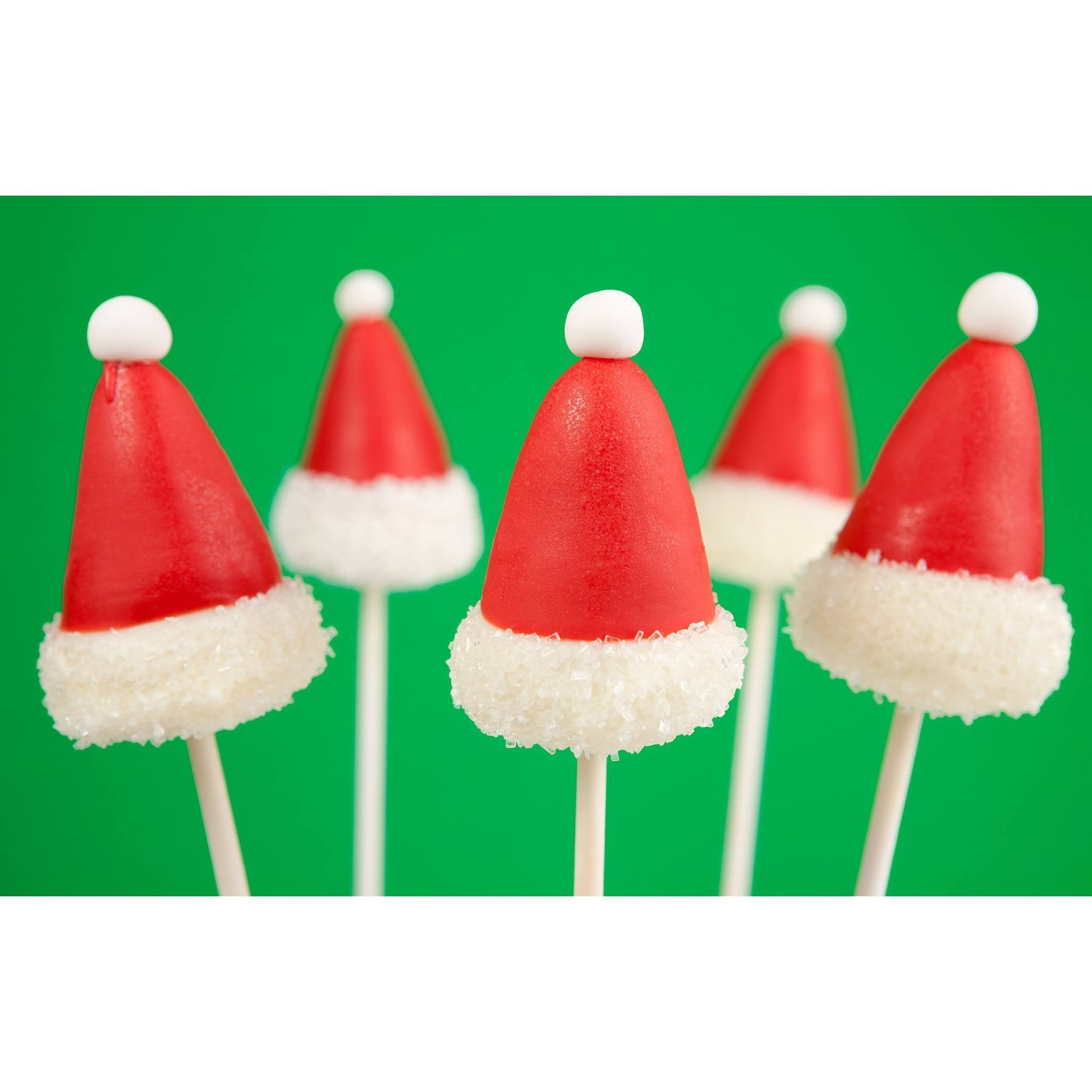 Buy Christmas Santa Hats Cake Pops - Cake Pops Parties