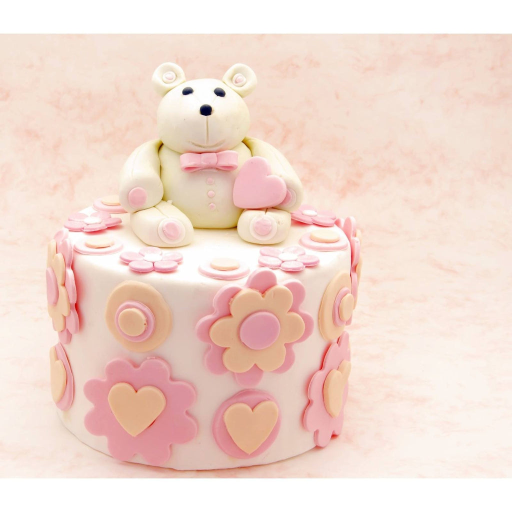 Buy Valentine's Day Teddy Bear Cake - Cake Pops Parties