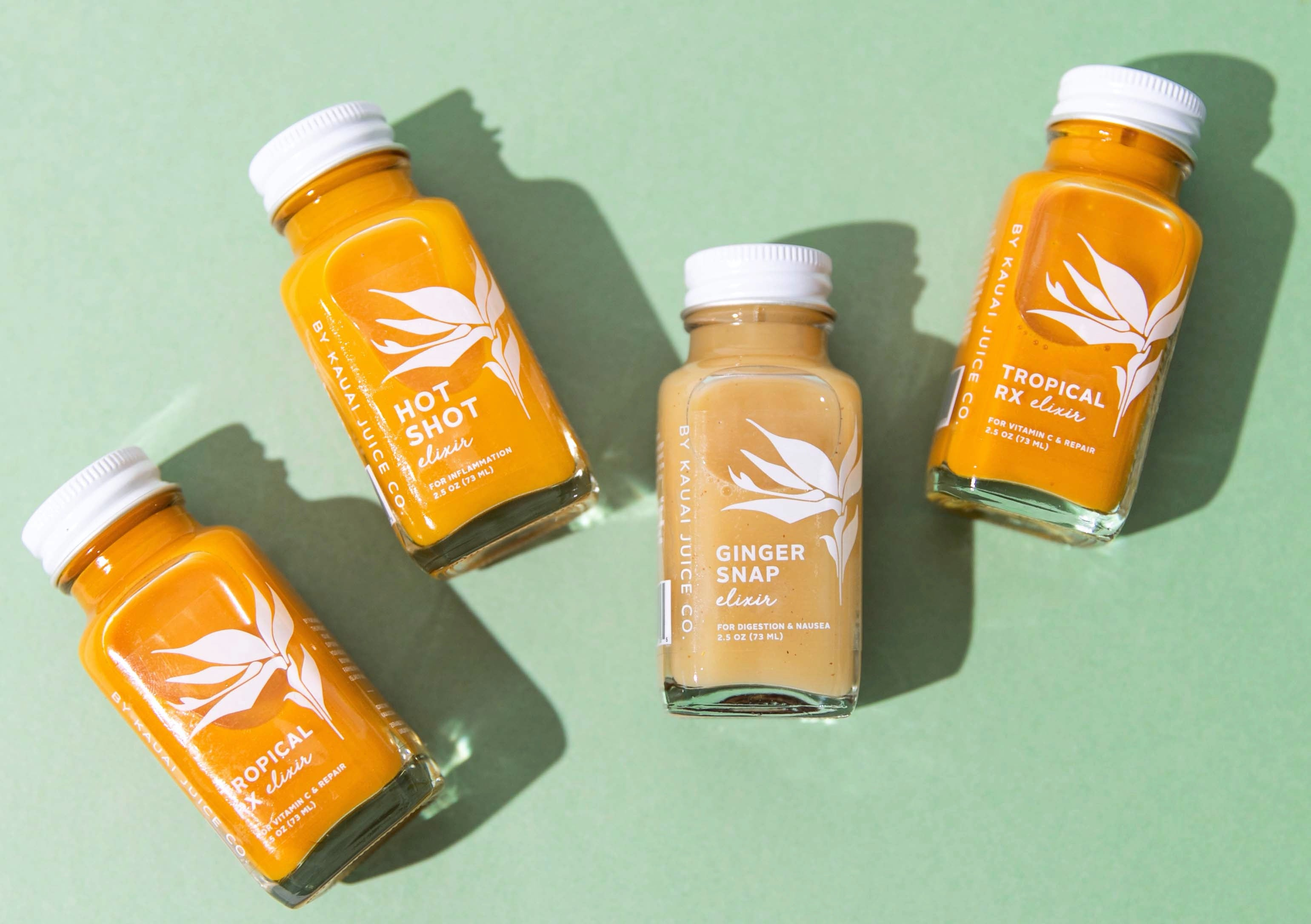 Kauai Juice Co Wellness Elixirs