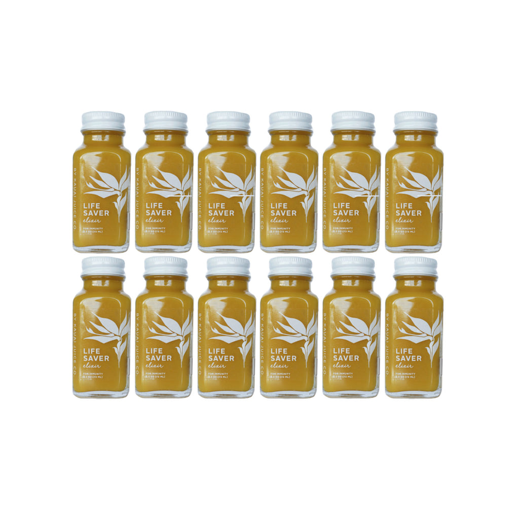 12 bottles of Life Saver Elixir