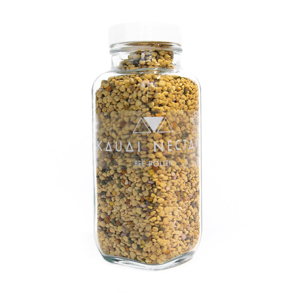 small jar of Kauai Nectar Bee Pollen