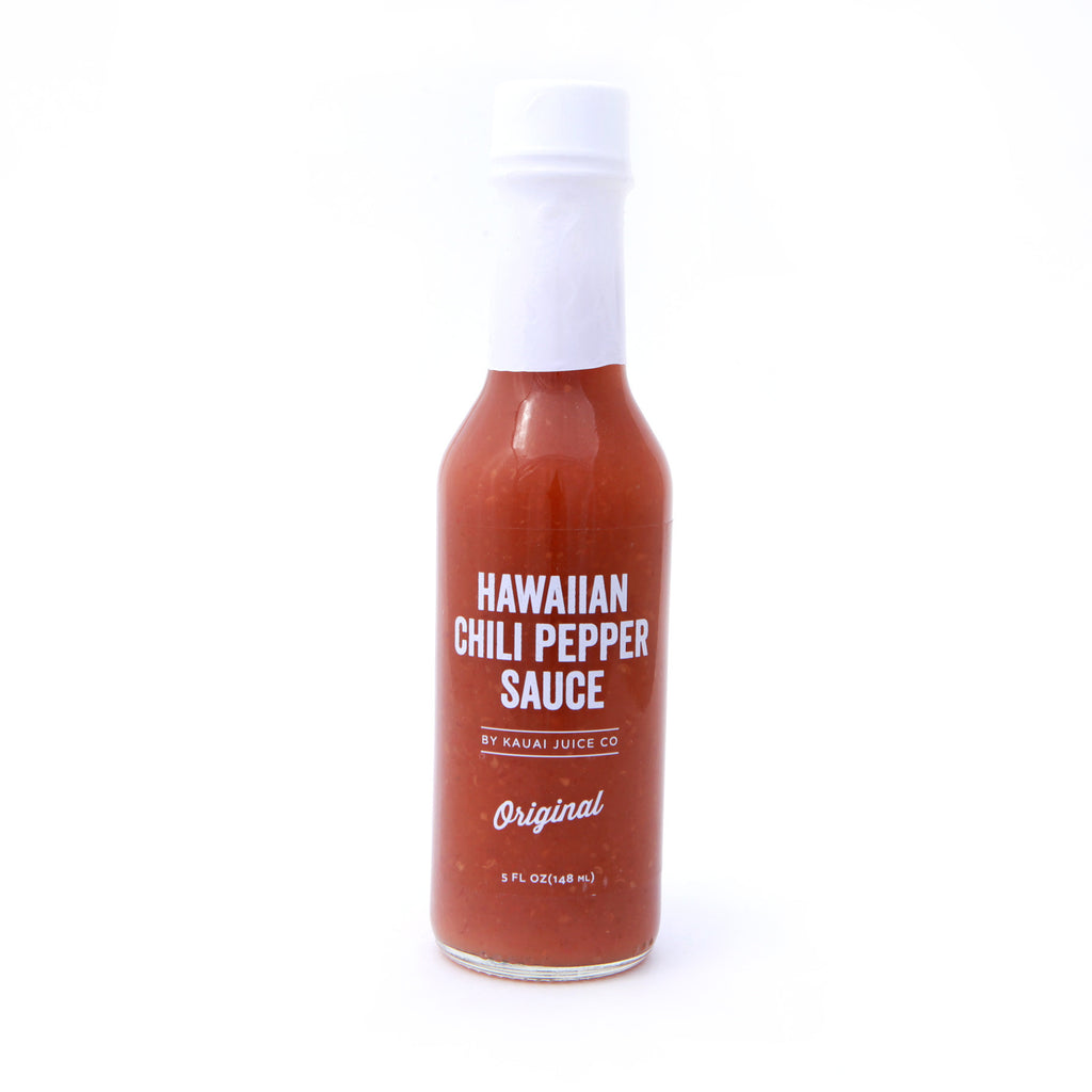 bottle of original Hawaiian Hot Sauce