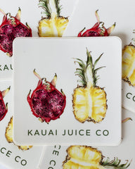 Tropical Fruits Sticker