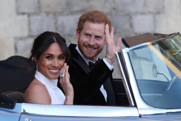 The Royal Wedding, Prince Harry and Meghan.