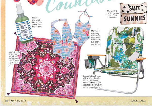 US Weekly Feature! Skova Picnic Rug!