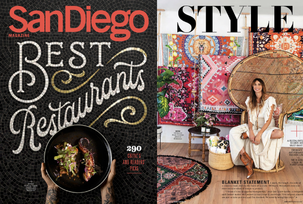 San Diego Magazine Feature!! June 2019 | Style Section