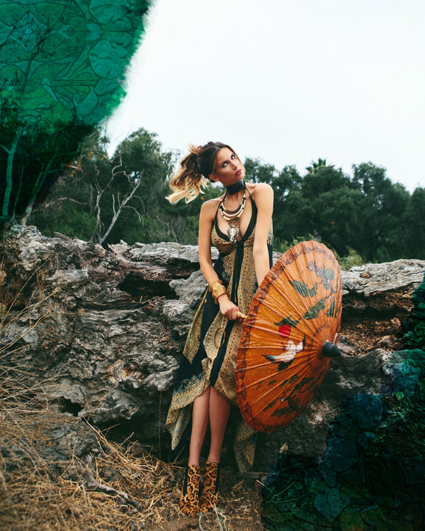 Mother Earth Scarf Editorial