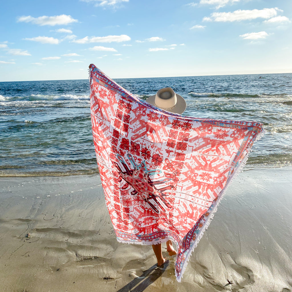 travel towel, oversized towel