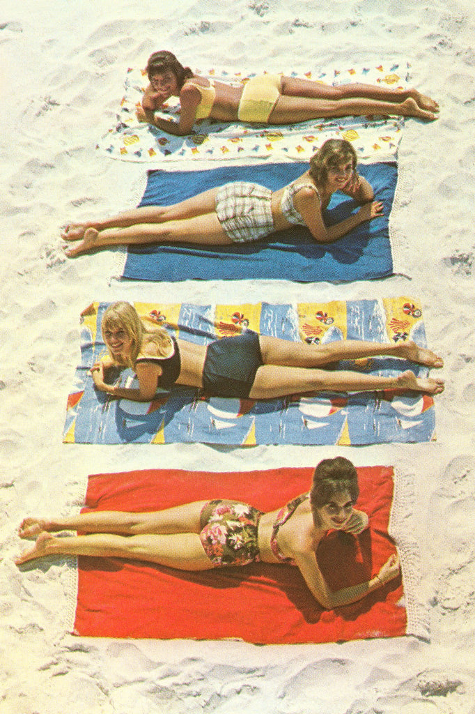 vogue, travel towel, style, beach