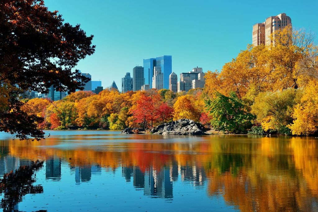 Central Park, New York, autumn travel, best fall travel destinations, Bohemian towels