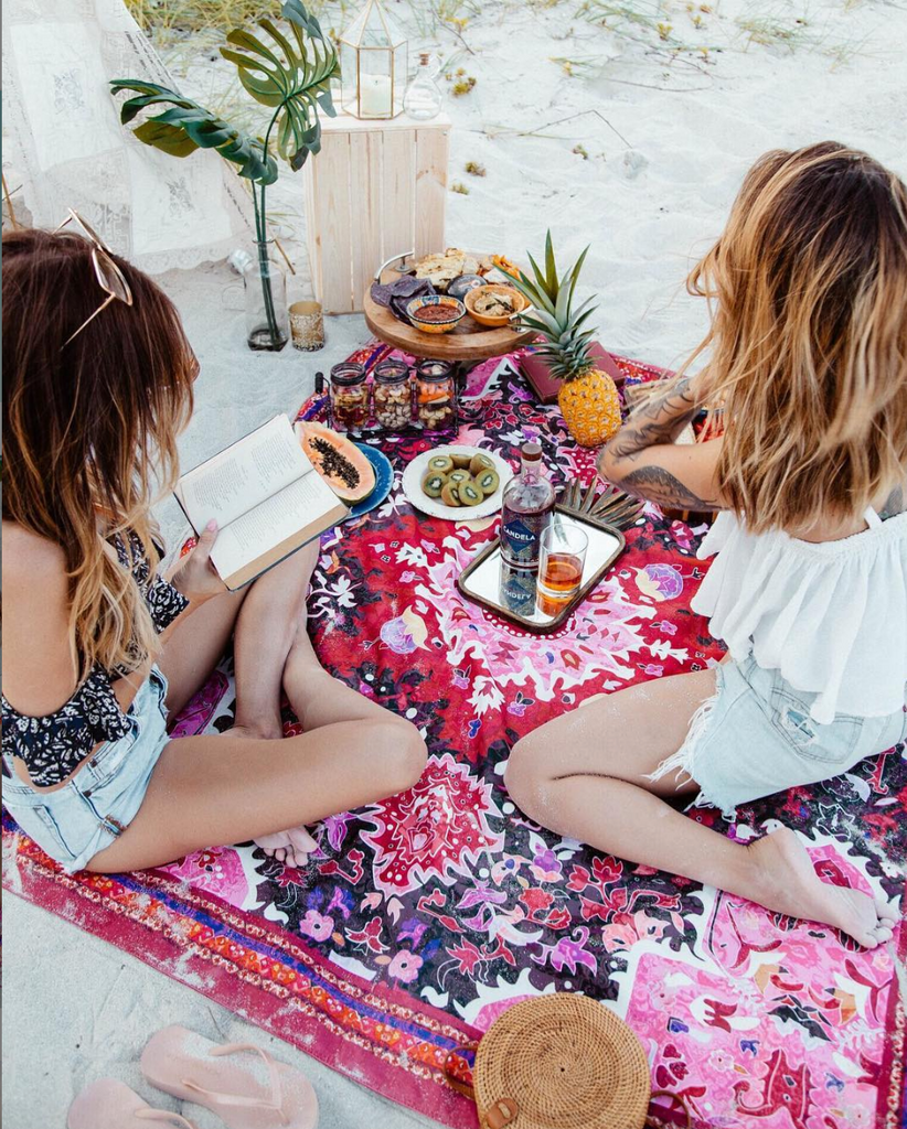 summer, beach lifestyle, organic, sustainable, eco friendly, local business, san diego, california lifestyle, summertime, 2019 summer, 2019 summer essential, picnic rugs, picnic, best picninc rug, cute picnic rug, bohemian decor,